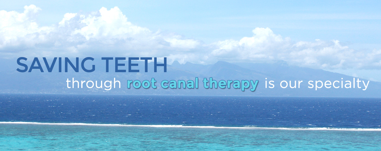 Saving teeth through root canal therapy is our specialty