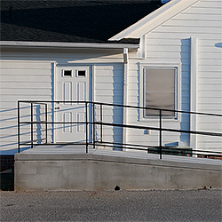 Exterior Wheelchair Ramp